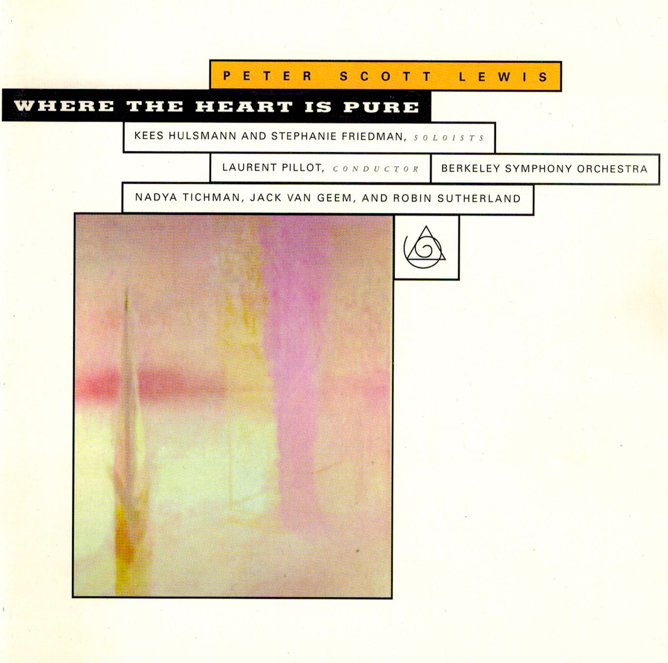 Peter Scott Lewis, Peter Lewis, Peter Lewis, Composer: Where the Heart is Pure